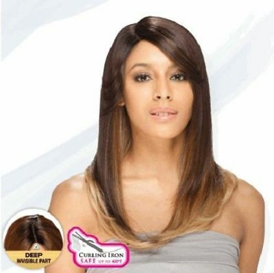 Nelly Equal Freetress Lace Front Deep Invisible Part Wig Pre Cut Lace Wig