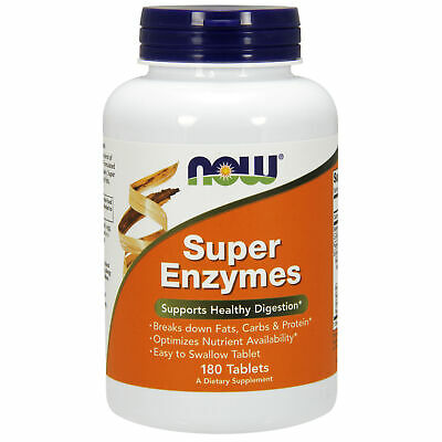 Now Foods Super Enzymes Systemic Enzymes - x180tabs