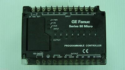 Used GE Fanuc PLC Series 90 Micro, IC693UDR001NP1