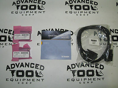 New Trimble 50589-10 R8 GNSS R6 5800 Rover Battery Cable CD Kit w/ 54344