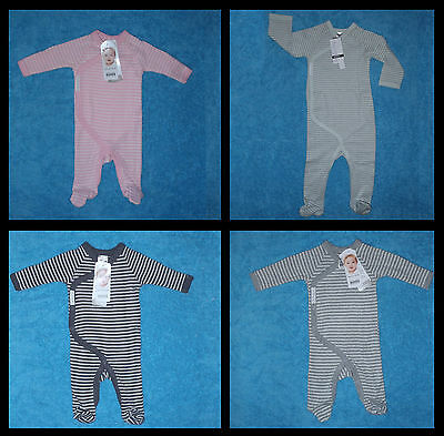 BONDS NEWBIES Stripe Coverall / Onepiece Sizes 00000 / 000 / 00 / 00 / 0  BNWTs