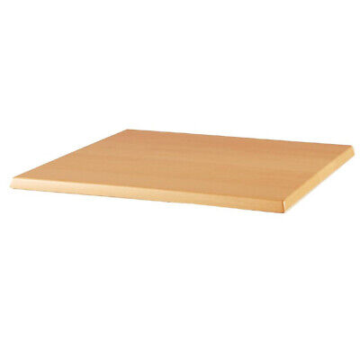 Cafe Table Top, Mix & Match, Square Light Beech, Werzalit, 700mm