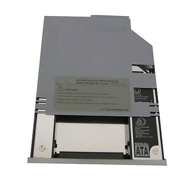 2nd hard drive HDD/SS Caddy Bay For Dell Latitude D800 D810 D820 D830 510M 600M