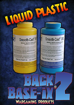 Liquid Polyurethane Resin Smooth On Smooth-Cast 310 Trial Kit 0.86kg/1.9lbs