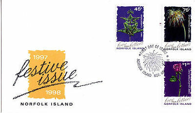 Norfolk 1997 Annual Festivals FDC