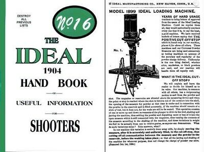 Ideal 1904 Hand Book No. #16 Edition
