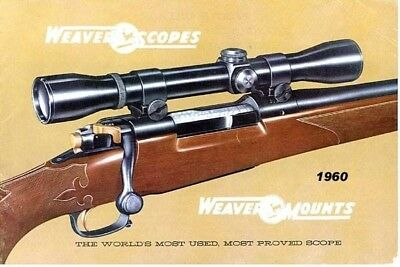 vintage weaver scopes