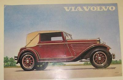 1929 1934 Volvo 650 Cabriolet Frameable Factory Print Poster wt2279