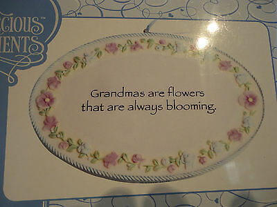 Precious Moments Grandmother Plaque  # 735022 Brand New in Box- Cute!!