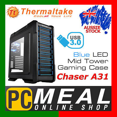 Thermaltake Chaser A31 Mid Tower Gaming Computer Case PC Chassis TT USB 3.0