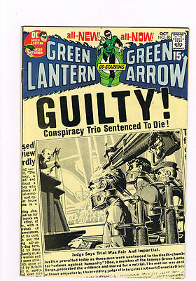 Green Lantern # 80  Sentenced to Die ! Neal Adams art - super scarce hot !!