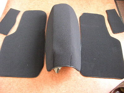 Fiat 1200, 1500 Spider Carpet Set Black Or Red