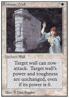 Animare i Muri - Animate Wall MTG MAGIC Unlimited Eng NM