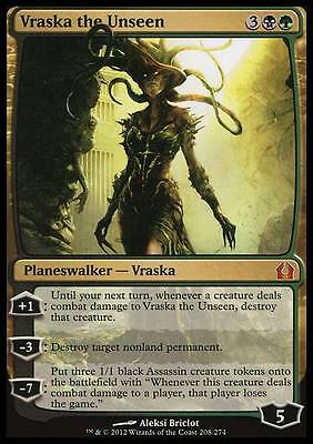 VRASKA L'INVISIBILE - VRASKA THE UNSEEN Magic RTR Mint