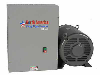 UL-40 Pro-Line 40HP UL Listed Rotary Phase Converter - New - Free Shipping