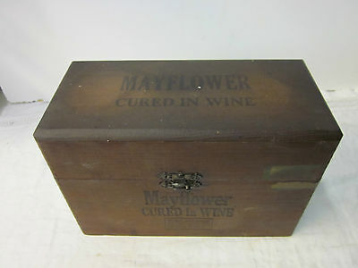 Mayflower Cured In Wine Cigar Box ~ Fact No. 799 1st Dist of Penna