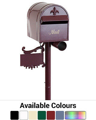Auspost A4 Free Standing Letterbox - Australian Made Mailbox Letter Box