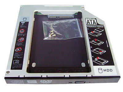SATA Hard Drive Disk 2nd HDD Caddy For ASUS K50IJ K50I DVD RW Drive NEW