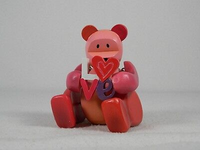 """Pozy Bears-""""Sentiments"""" Love Forever Yours-W/Love-Figurine #321009 New In Box"""