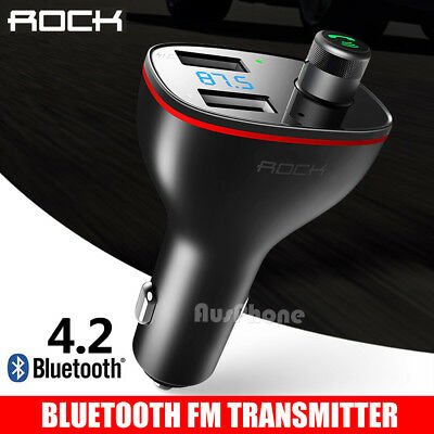 Wireless Bluetooth Car Kit Radio FM Transmitter Charge MP3 Music Player LCD USB