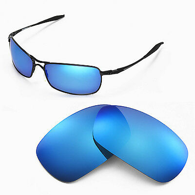 New WL Polarized Ice Blue Replacement Lenses For Oakley Crosshair 2.0 Sunglasses