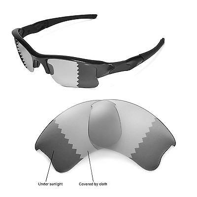 New Walleva Polarized Transition/Photochromic Lenses For Oakley Flak Jacket XLJ