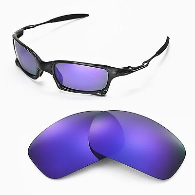 ae30ada953 New Walleva Polarized Purple Replacement Lenses For Oakley X-Squared  Sunglasses