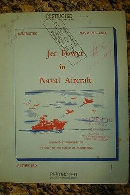 Jet Power In Naval Aircraft Dated 1949
