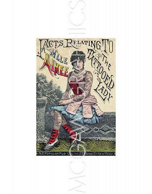 Vintage Reproduction - Facts Relating To The Tattoed Lady