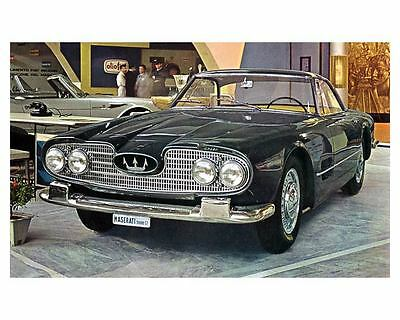 1960 Maserati 5000GT Touring Automobile Photo Poster Shah of Iran zua4328-INQL77