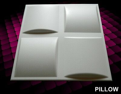 3D WALL CEILING PANELS POLYSTYRENE TILES (Pack of 60) 15 Sqm - PILLOWS 3D