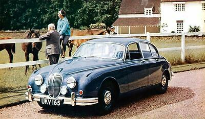 1962 Jaguar Mark 2 Saloon Automobile Photo Poster zua4524-3AFAS2