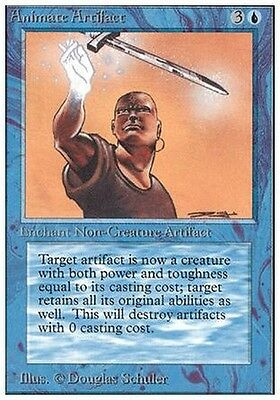 Animare Artefatto - Animate Artifact MTG MAGIC Unlimited Eng NM