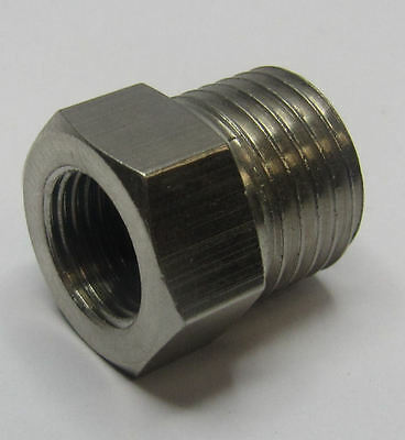 "Rdgtools Airbrush Hose Adaptor 1/8"" Bsp - 1/4"" Bsp Female - Male Air Brush"