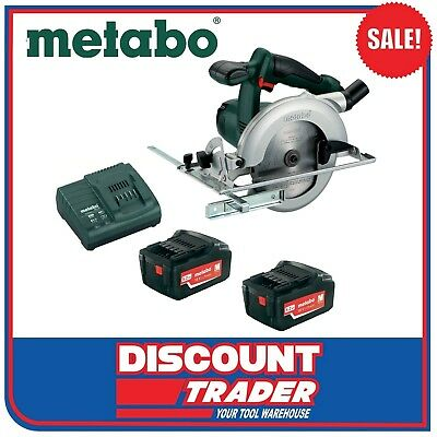 Metabo 18 Volt 4.0Ah Lithium-Ion Cordless Circular Saw Kit - KSA 18 LTX