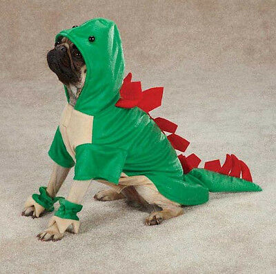 Dogosaurus Dog Halloween Costume  Dinosaur Pet New Casual Canine
