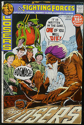 Our Fighting Forces #133 Fn- The Losers Joe Kubert