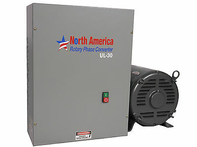 UL-30 Pro-Line 30HP UL Listed Rotary Phase Converter - NEW - Made in USA