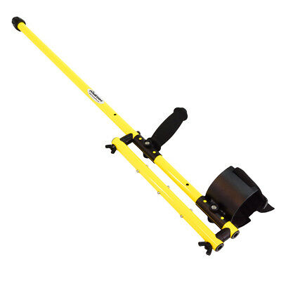 Anderson Minelab Excalibur Metal Detector Yellow Aluminum Over Under Shaft 0813