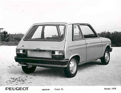1978 Peugeot 104 Coupe ZL ORIGINAL Factory Photo aa2666-MWU5HE