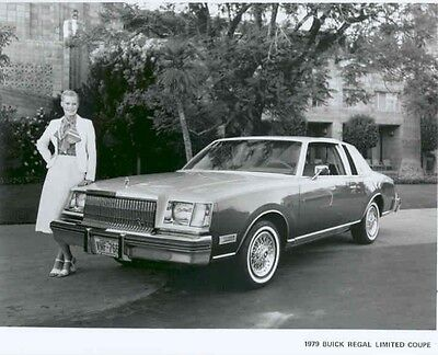 1979 Buick Regal Limited Coupe ORIGINAL Factory Photo aa3204-8TOYA5
