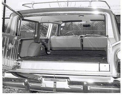 1961 AMC Rambler Ambassador Super Station Wagon ORIGINAL Factory Photo aa350