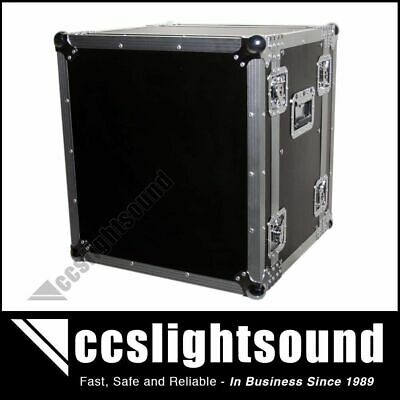 12Ru Rack Road Case With Front And Rear Lids