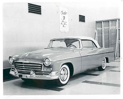 1956 Chrysler Windsor Convertible Coupe Factory Photo aa6455-CX7ZVB