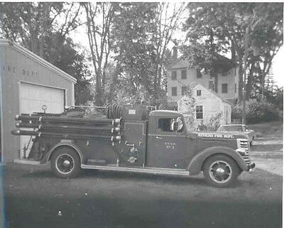 1938 Federal Fire Truck ORIGINAL Factory Photo ac7003-VRRMXZ