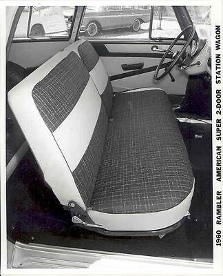 1960 AMC Rambler American Super Interior ORIGINAL Factory Photo H248-45EJR9
