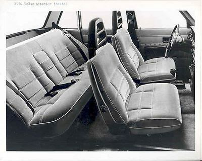 1976 Volvo Interior ORIGINAL Factory Photo H3351-J32LVI