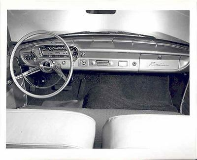1962 AMC Rambler Classic Interior ORIGINAL Factory Photo H389-1FGWHJ