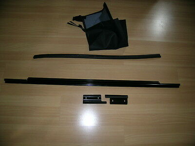 1987 2006 Jeep Wrangler U0026 Unlimited Tailgate Rear Window Bar With Clips