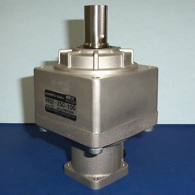 SHIMPO-Nidec 1:25 ABLE REDUCER GEAR REDUCER VRSF-25C-100 *PZF*